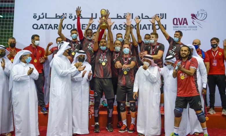 Al Rayyan Crowned Amir Volleyball Cup Champions
