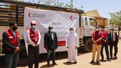 QRCS Provides Vital Medical Supplies for Sudanese Counterpart