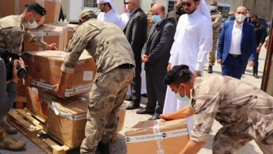 Qatari Aid Shipment Arrives in Lebanon