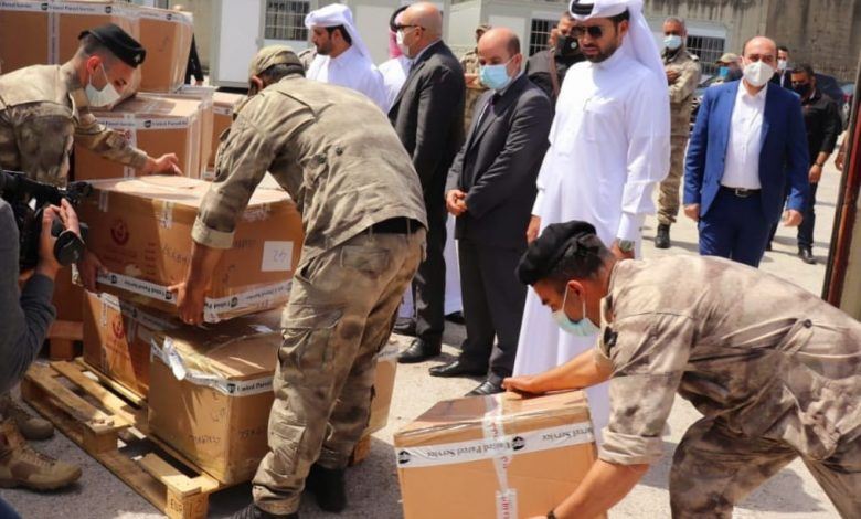Qatari Aid Shipment Arrives in Lebanon