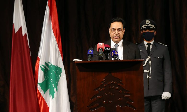 Qatar Continues to Support Lebanon without Fanfare or Political Calculations: Diab