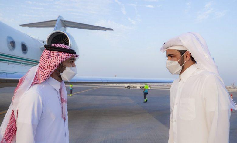 Sheikh Joaan Meets President of the UAFA