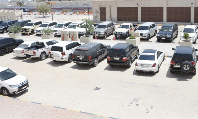 About 350 Vehicles Seized for Traffic Violations
