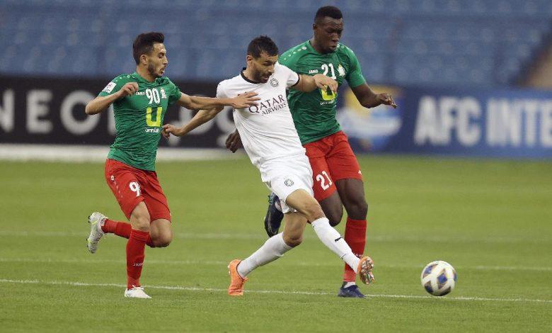 AFC Champions League: Al Sadd Defeat Al Wehdat 3-1 to Take First Win