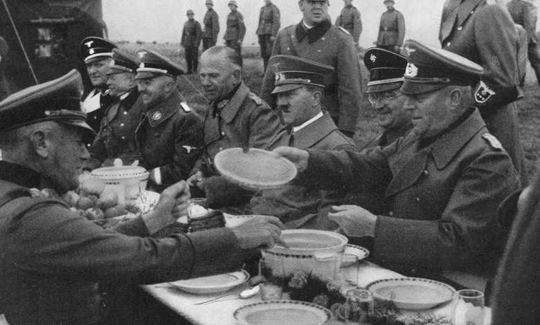 More than $7,000 fine for Austrian policeman over photo with Hitler's favorite meal