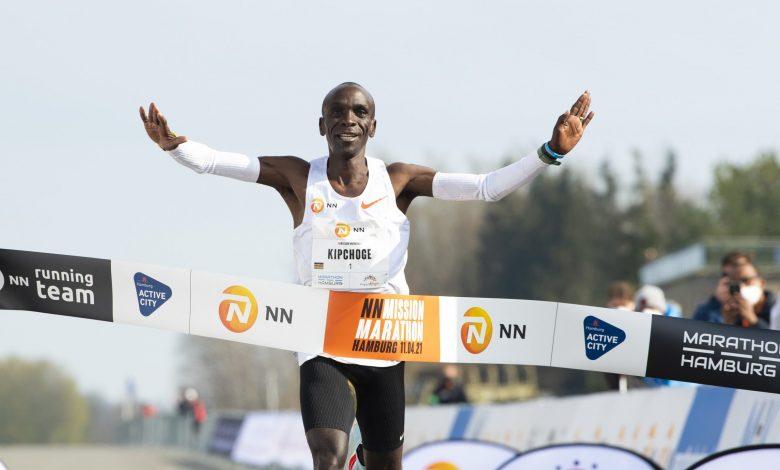 Kenyan Kipchoge Strides Through NN Mission Marathon Win