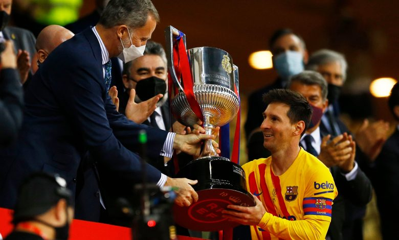 Barcelona crowned as Copa del Rey champions