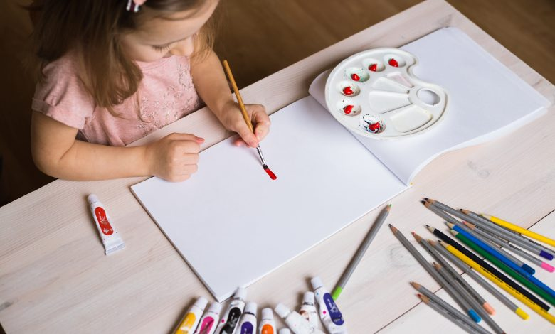 Experimental Program For Children that Uses Artworks to Reduce Anxiety