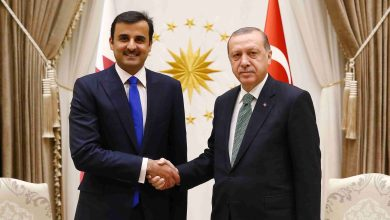 Amir Holds Phone Call with Turkish President