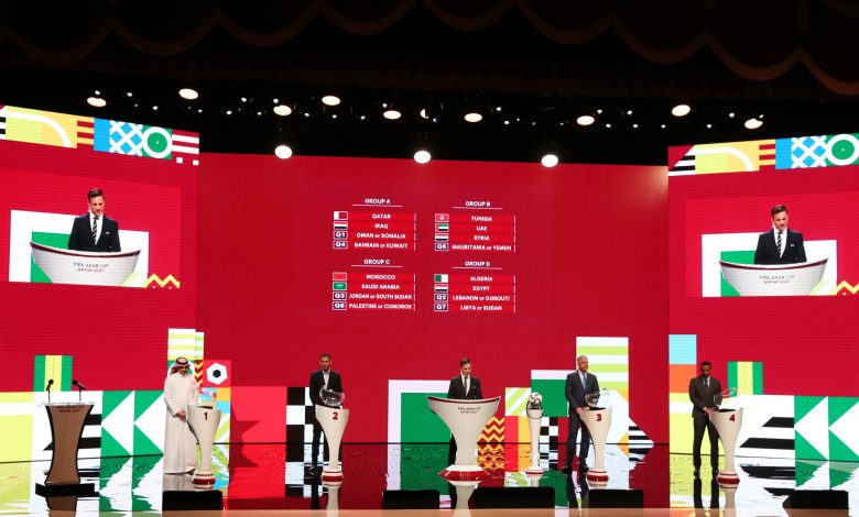 Qatar in Group A of FIFA Arab Cup 2021