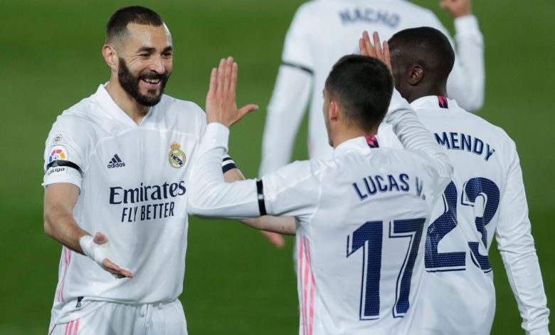 La liga: Real Madrid beat Cadiz 3-0