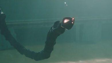 CMU's latest snakebot can swim underwater
