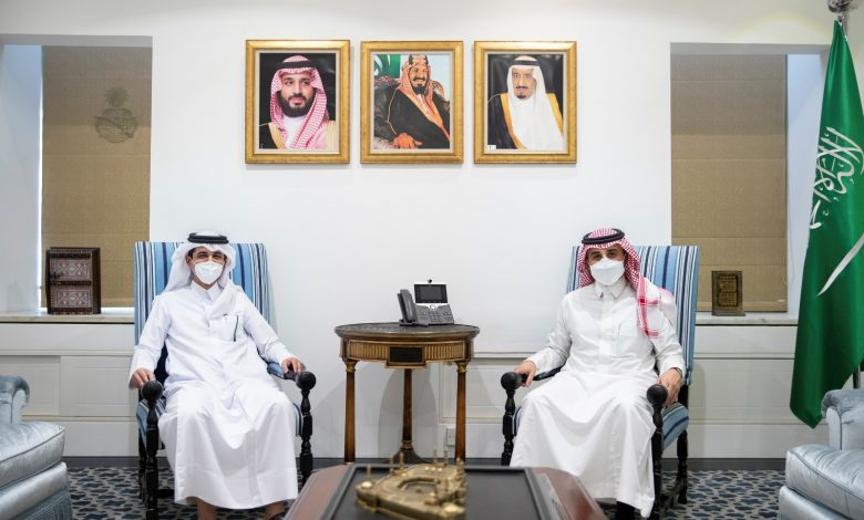Undersecretary of Saudi Ministry of Foreign Affairs Meets Qatar's Charge d'Affaires