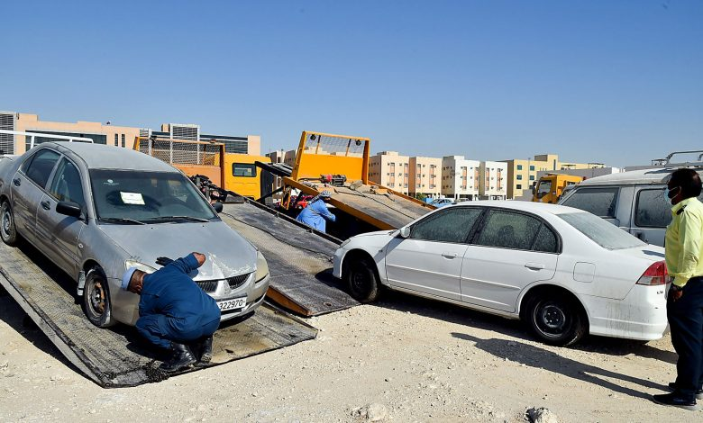 Around 6,000 abandoned vehicles removed since January 2021