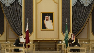 HH the Amir Holds Talks Session with Saudi Crown Prince