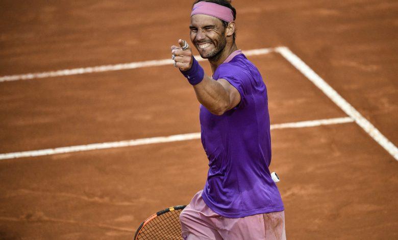 Nadal beats Djokovic to win 10th Rome title