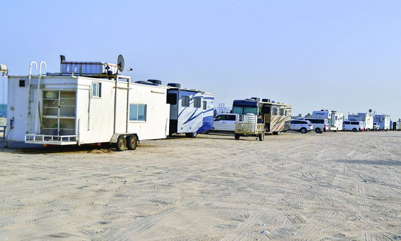 Complaints of cabin rental on public beaches