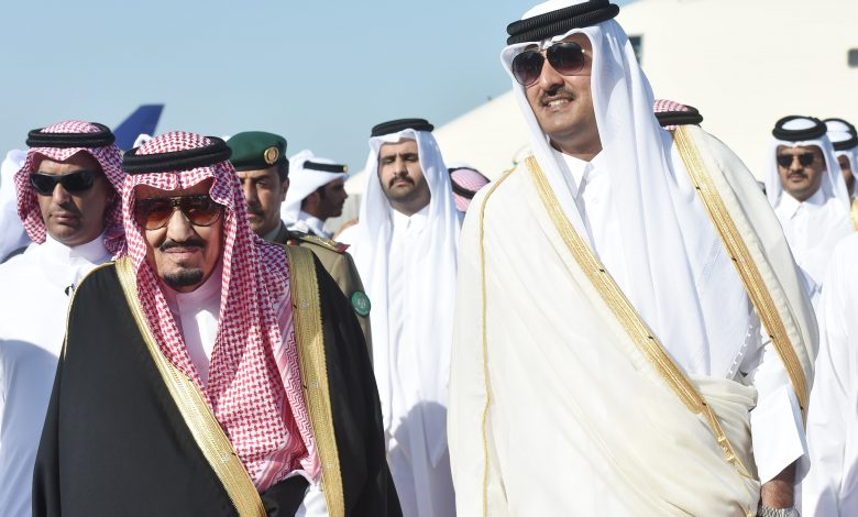 HH the Amir Visits Saudi Arabia