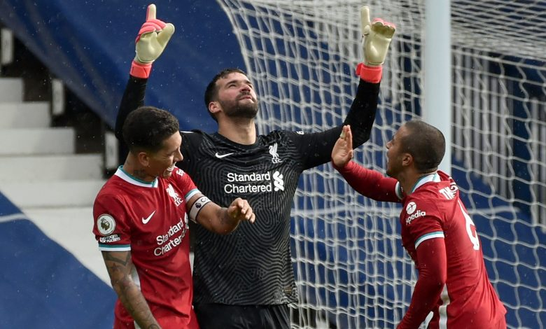 Alisson's Last-Minute Goal Seals 3 Points for Liverpool at WBA
