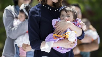 Japan's child population hits record low