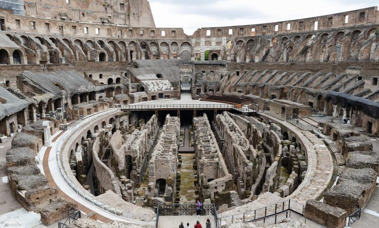 Rome's Colosseum to get new retractable floor