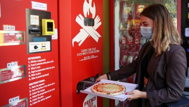 Fresh pizza vending cuts the baking time to 3 minutes