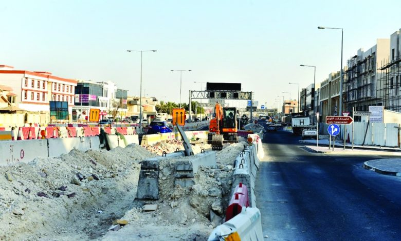 Opening a package of projects simultaneously disrupted lives of residents of Al Furjan
