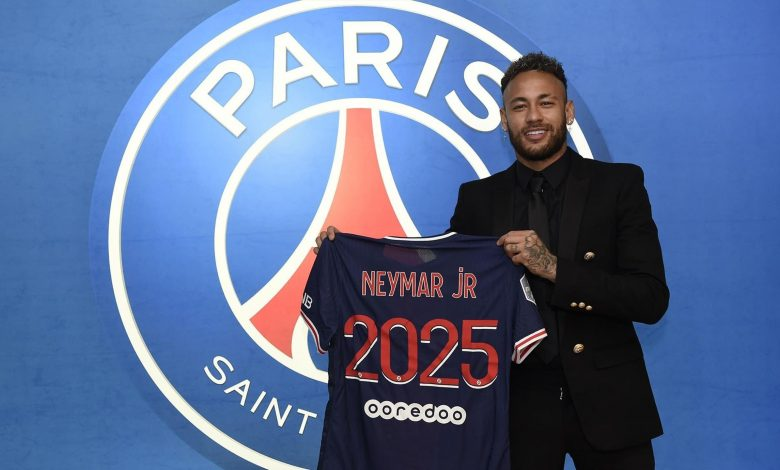Paris Saint-Germain Extends Contract with Neymar until 2025