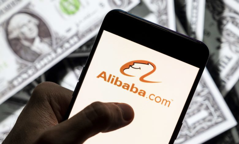 Alibaba reports first operating loss as a public company