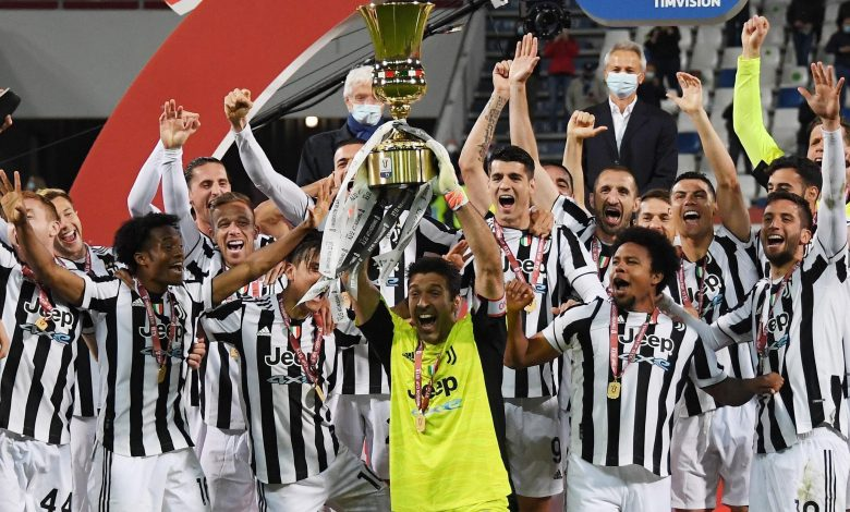 Juventus win Italian Cup for 14th time as fans return