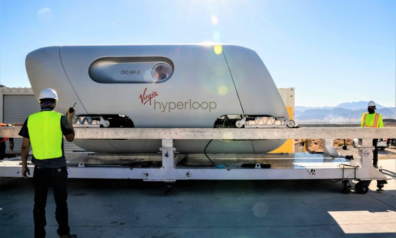 Virgin Hyperloop shows off the future: mass transport in floating magnetic pods