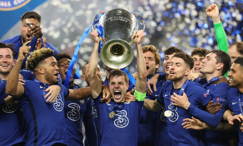 Chelsea win Champions League for 2nd time