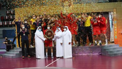 Al Duhail Win Men's Handball League