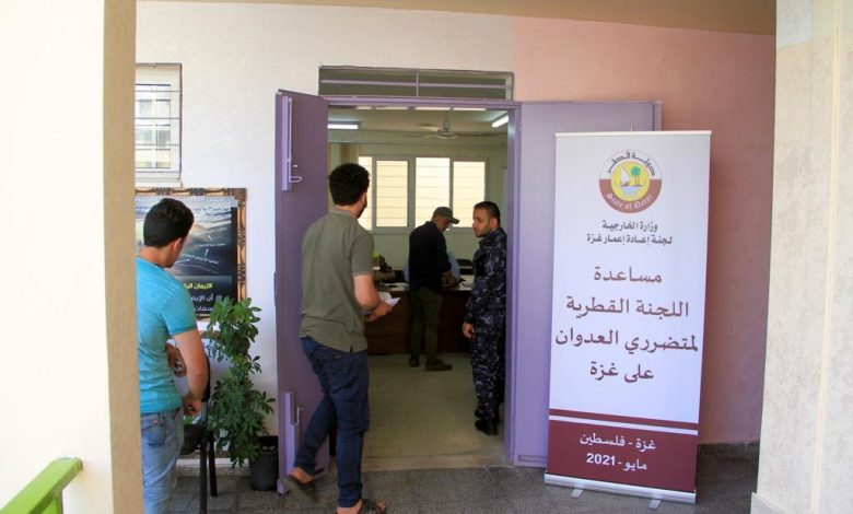 Qatar distributes urgent relief aid to martyrs' families and affected people in Gaza Strip