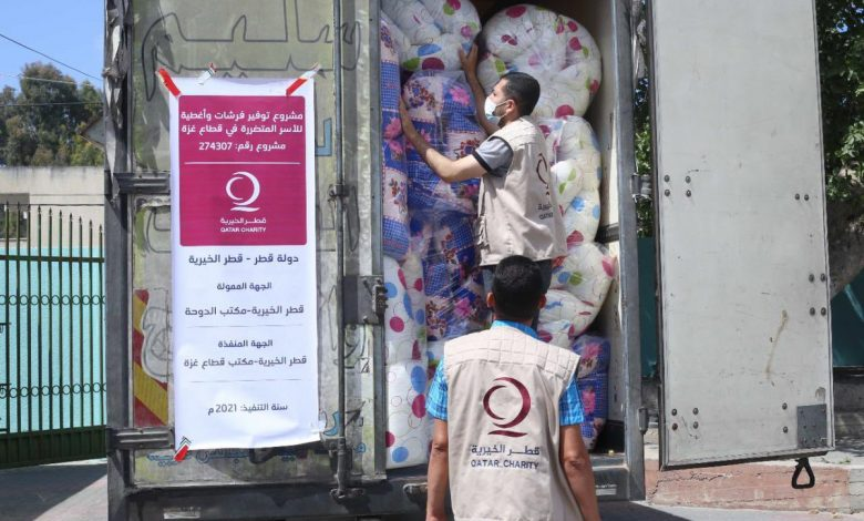QC Continues to Carry out Relief Projects for the Affected in Gaza