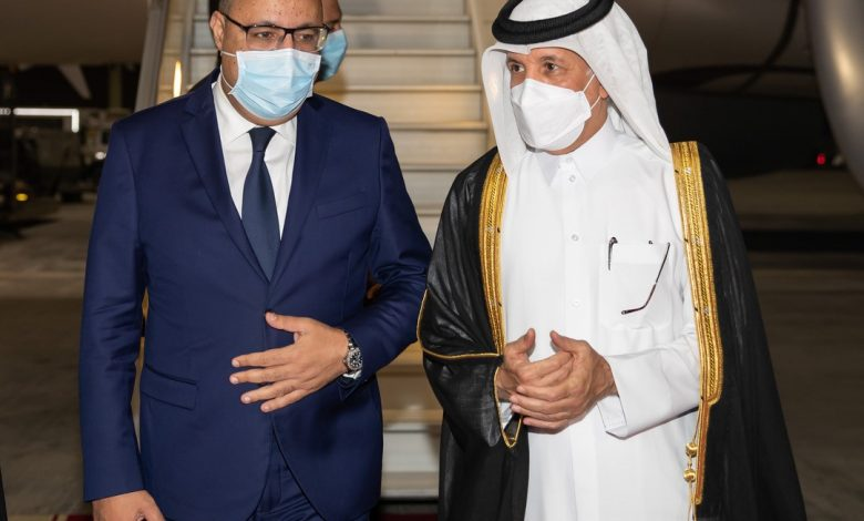 Tunisia's Prime Minister Arrives in Doha