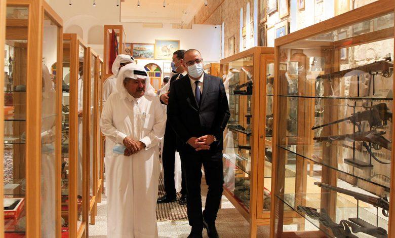 Tunisian Prime Minister Visits FBQ Museum