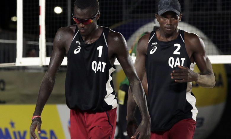 Qatar Beach Volleyball Team Qualify for Semi-Finals of FIVB Tour Sochi