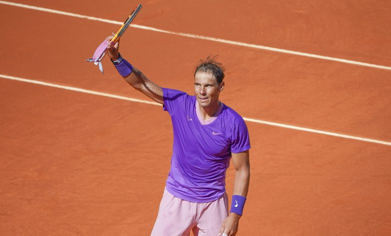Nadal aims to find rhythm in Madrid as French Open looms