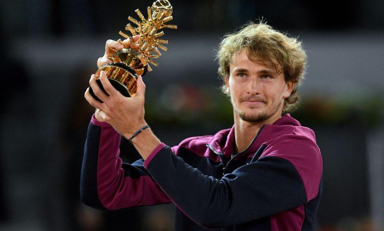 Zverev defeats Berrettini to win second Madrid Open title