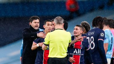 "PSG and City match referee ""insults"" players!"