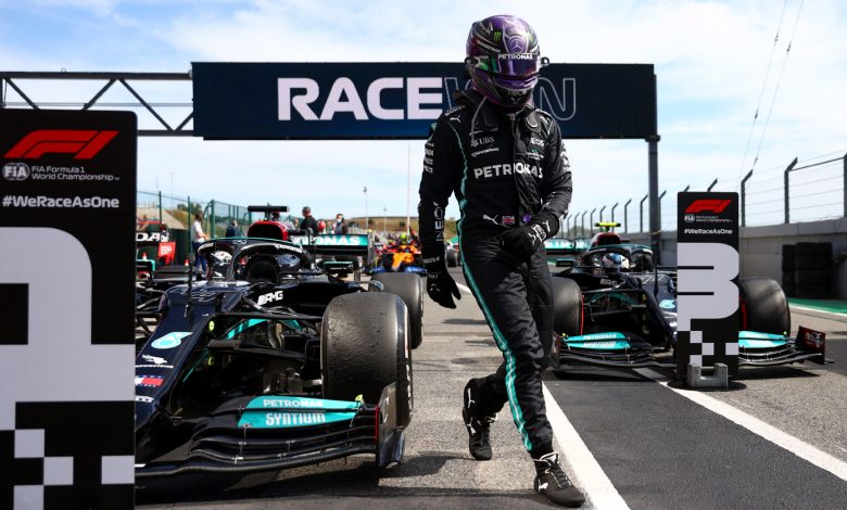 Spanish Grand Prix: Lewis Hamilton leads Mercedes one-two in second practice