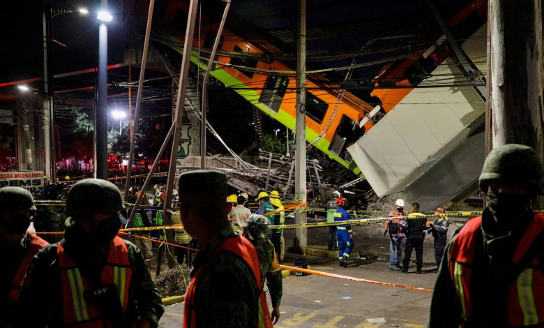 Mexico City bridge collapse: At least 23 dead