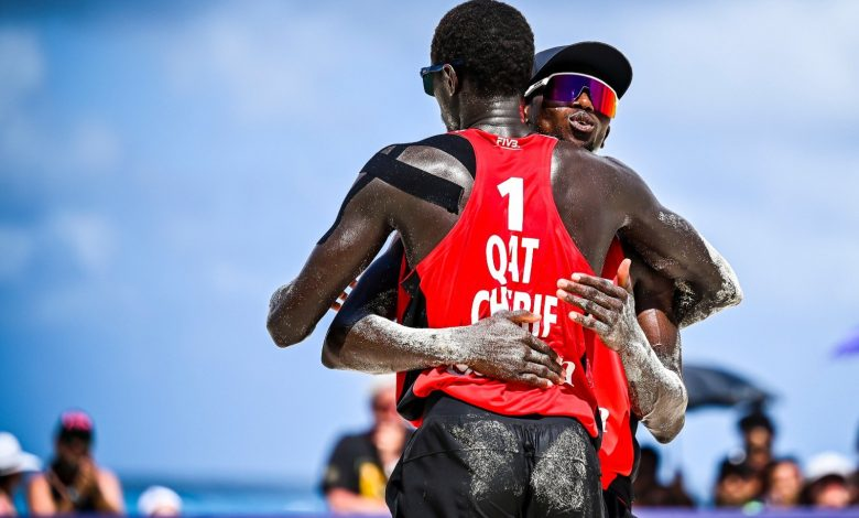 Qatari Beach Volleyball Team Advance in International Rankings