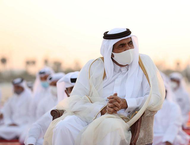 Amir, Father Amir Perform Eid Al Fitr Prayer