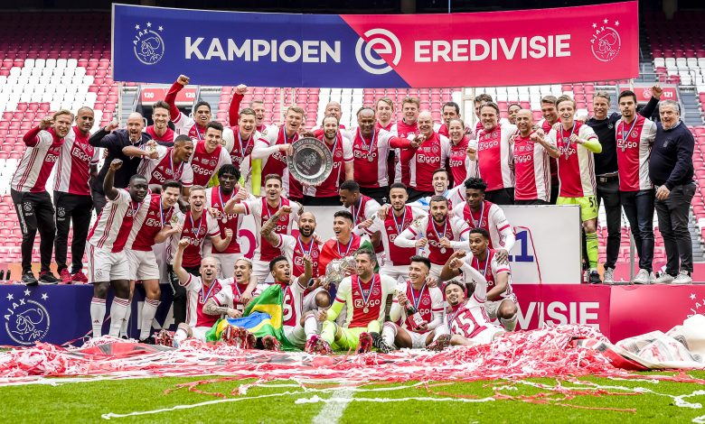 Ajax clinch Dutch title with three games to spare