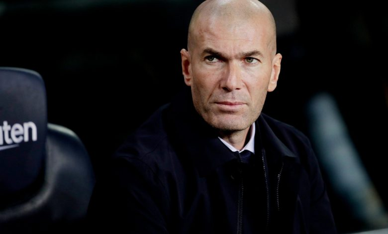 Zidane rejects reports he has told Real players he is leaving