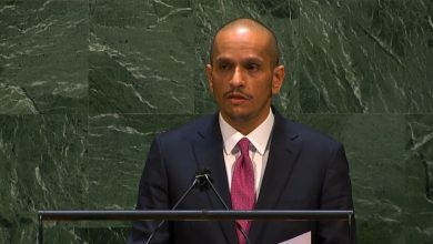 Foreign Minister: Qatar Supports De-escalation Efforts in Occupied Palestinian Territories