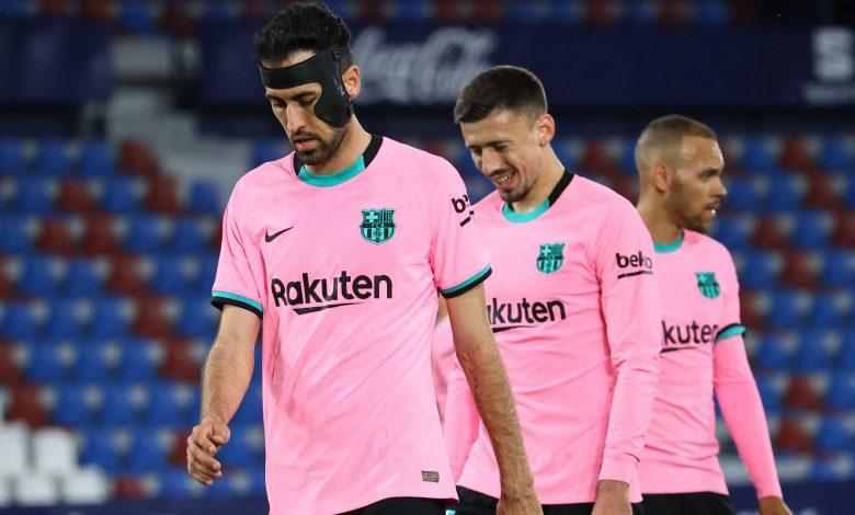 La Liga: Barcelona and Levante Draw 3-3