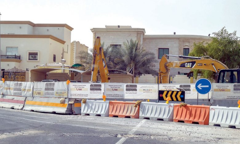 Excavations disturb the joy of Al-Mearad residents in developing the area